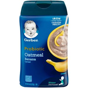 Gerber Probiotic Oatmeal & Banana 1pc