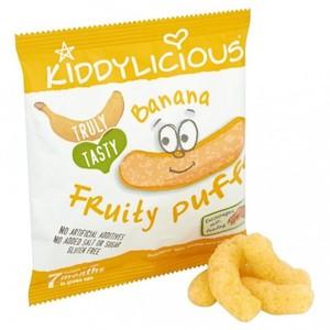 Kiddylicious Banana Fruity Puff 10g
