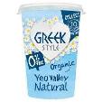Yeo Valley Greek Style 0% Fat Natural Yogurt 150g