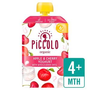 Piccolo Cherry & Yoghurt With Wholegrain Oats 100g
