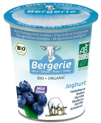 Bergerie Organic Blueberry Layered Sheep's Milk Yoghurt 125g