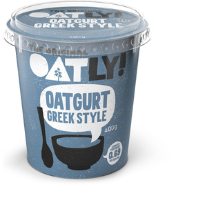 Oatly Oatgurt Greek Style 400ml