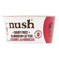 Nush Almond Caramel And Hibiscus Yoghurt 120g