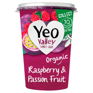 Yeo Valley Raspberry & Passion Fruit Yoghurt 450g