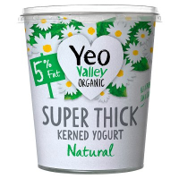 Yeo Valley Super Thick Kerned Natural 5% Fat Yoghurt 450g