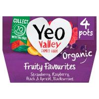 Yeo Valley Fruity Favourite Yoghurt 4x120g