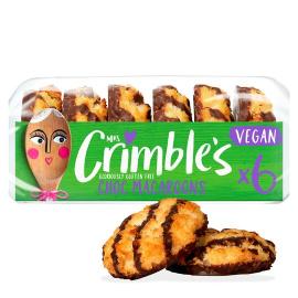 Mrs. Crmbles Vegan Chocolate Macaroons 195g