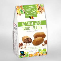 Belvas No Sugar Added Truffle With Inulin 100g