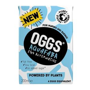 Oggs Aquafaba Egg Alternative 200ml