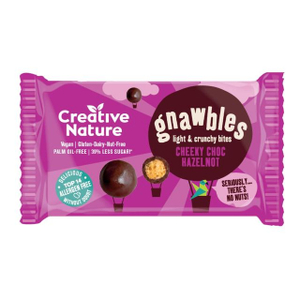 Creative Nature Cheeky Choc Hazelnet Gnawbles 6x75g