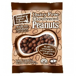 Fabulous Fudge Factory Dairy Free Chocolate Covered Peanuts 5x65g