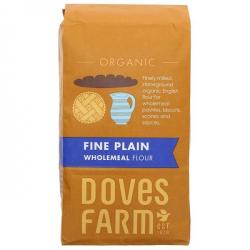 Doves Farm Fine Plain Wholemeal Flour 1kg