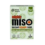 King Soba Instant Pumpkin & Vegetable Miso Soup 60g