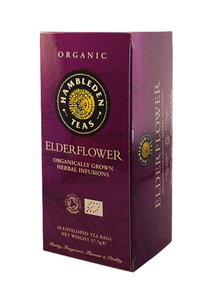 Hambleden Elderflower Tea Bags 100g