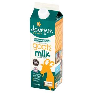 Delamere Semi Skimmed Uht Goats Milk 1l