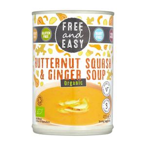 Free & Easy Butternut Squash & Ginger Soup 130g