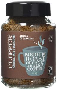 Clipper Medium Roast Instant Coffee 100g