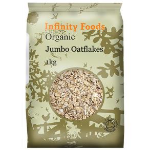 Infinity Foods Gluten-Free Jumbo Oatflakes 500g