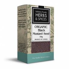Infinity Foods Black Mustard Seed 500g
