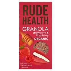 Rude Health Strawberry And Raspberry Granola 5x450g