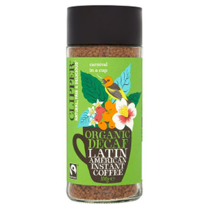Clipper Instant Decaf Coffee Latin American 100g