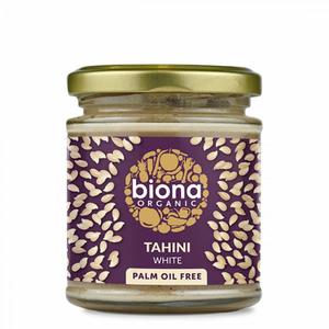Biona Tahini White No Salt Raw 350g