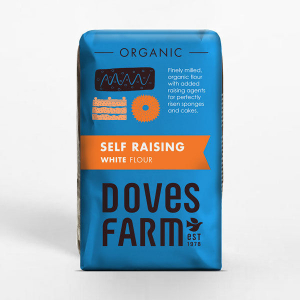 Doves Farm White Flour Self Raising 1kg
