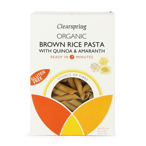 Clearspring Brown Rice With Quinoa & Amaranth Penne 4x250g