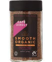 Cafe Direct Organic Instant Smooth Blend Freeze Dried Coffee 100g