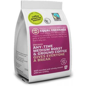 Equal Exchange Medium Roast & Ground Coffee 227g