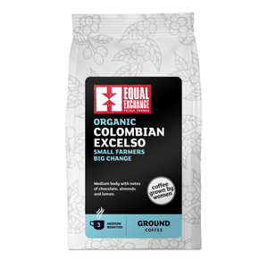 Equal Exchange Colombian Excelso Roast & Ground Coffee 227g