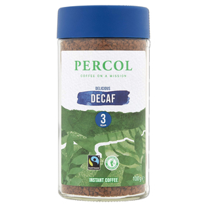 Percol Natural Decaf Coffee 100g