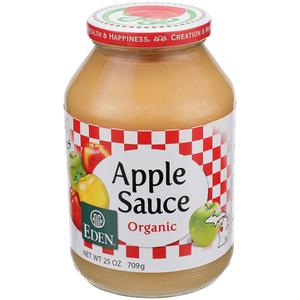 Eden Organic Apple Sauce 709g
