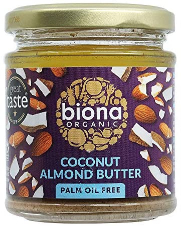 Biona Organic Coconut Almond Butter 170g