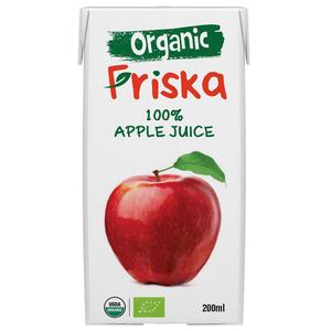Friska Organic 100% Apple Juice 200ml