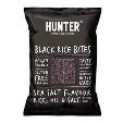 Hunter's Gourmet Black Rice Bites Sea Salt 110g