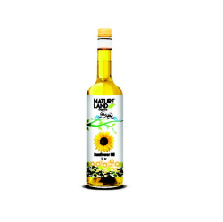 Natureland Organic Sunflower Oil 1l