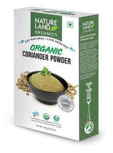 Natureland Organic Coriander Powder 100g