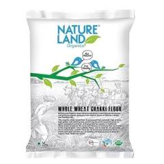 Natureland Nature Land Organic Whole Wheat Flour 750g