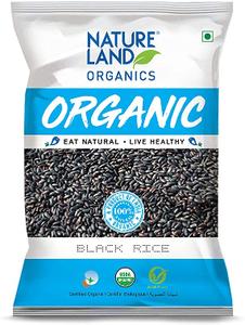 Natureland Nature Land Organic Black Rice 500g