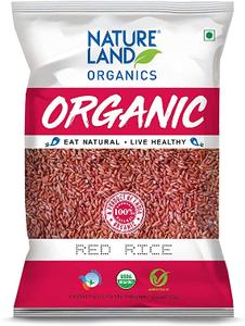 Natureland Nature Land Organic Red Rice 1kg