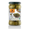 Gaea Pitted Green Olives 8x65g