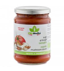 Bioitalia Organic Mushroom Sauce 12x350g