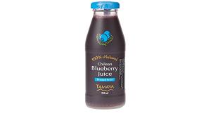 Tamaya Natural Blueberry Juice 12x250ml