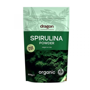 Dragon Superfoods Spirulina Powder Vegan Raw Organic 6x200g