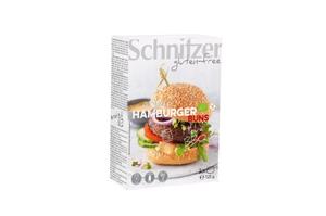 Schnitzer Organic Hamburger Buns 125g