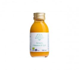 Ayurveda Organic Super Shot Turmeric Cinnamon & Apple 100ml