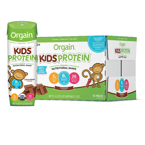 Orgain Kids Chocolate Protein Shake 6x244ml