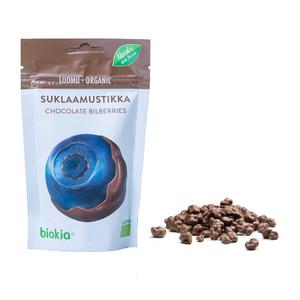 Biokia Organic Chocolate Bilberry 75g