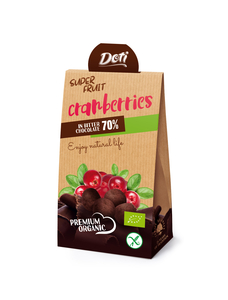 Doti Organic Super Fruit Cranberries 50g